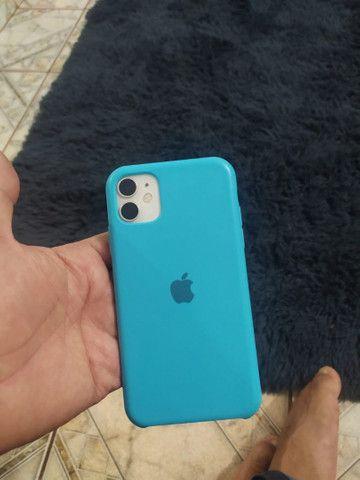iPhone 11 64gb 2 meses de uso bateria 100% - Foto 5