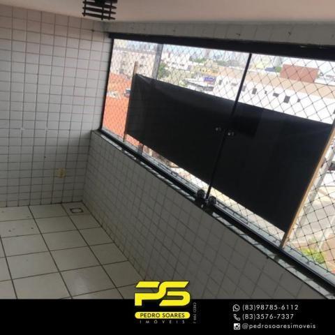 Apartamento com 3 dormitórios à venda, 90 m² por R$ 300.000 - Jardim Cidade Universitária  - Foto 3