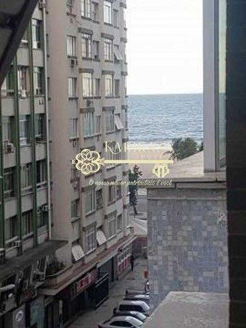 Copacabana- Av Nossa Sra de Copacabana - Apartamento Reformado, vista lateral mar, 3 quart - Foto 7