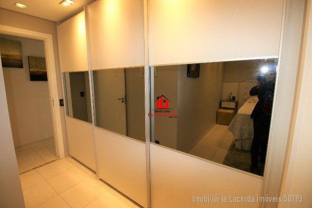 Apartamento 3 suítes, 134m², Andar Alto, Financia, Varanda Churrasqueira - Foto 4