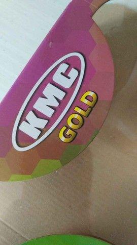 Kit De Transmissão Dafra Apache 150cc Kmc Gold - Foto 2