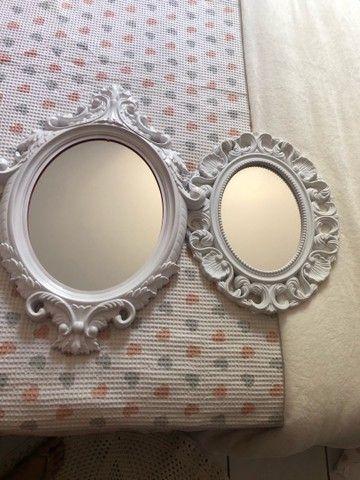 Espelhos decorativos os dois por R$70,00  - Foto 4