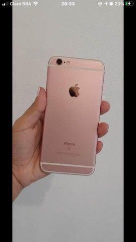 iPhone 6s 16gb , seminovo , barato , tudo funcionando perfeitamente, bateria 100% ?