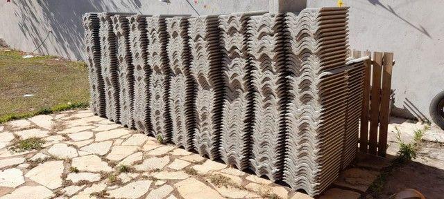 Telha de Concreto CINZA PÉROLA - Foto 3