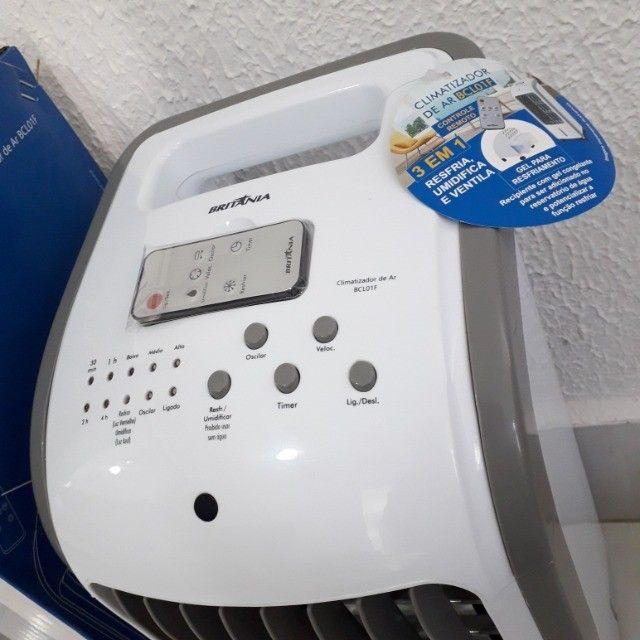Climatizador de Ar com Controle - Na Caixa em Perfeito Estado - Foto 3