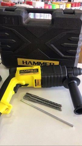 ( novo )  Martelete Perfurador Com Maleta Sds Plus 650w Hammer 220V