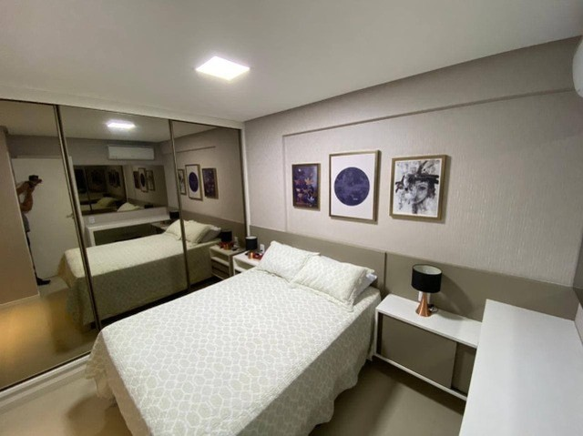 AB135 - Apartamento todo projetado/ 03 quartos/ Varanda gourmet - Foto 3