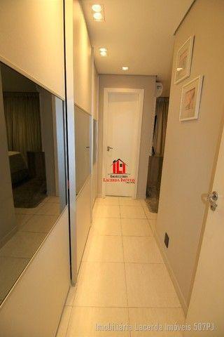 Apartamento 3 suítes, 134m², Andar Alto, Financia, Varanda Churrasqueira - Foto 6