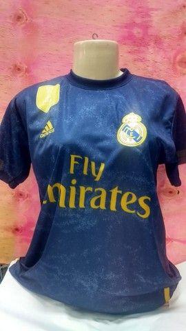 Camisas Futebol Internacional Masculina tamanho P adulto. - Foto 3