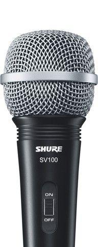 Microfone Dinâmico Shure SV100 Com Cabo. Original. Novo. Garantia 1 Ano. - Foto 4