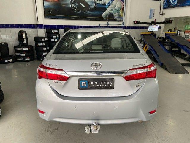 Corolla XEI 2.0 Flex aut. 2017 BLINDADO - Foto 7