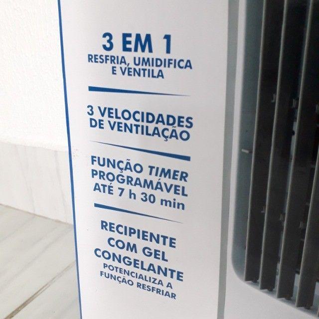 Climatizador de Ar com Controle - Na Caixa em Perfeito Estado - Foto 2