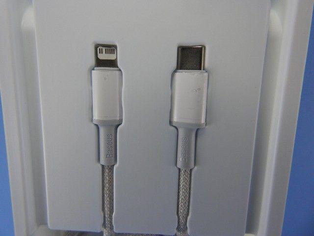 Cabo USB-C / Lightning (Compatível com Iphone) - Foto 4