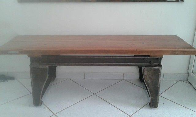 banco em madeira  - Foto 2