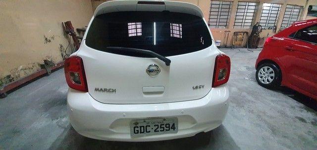 Nissan march sv 1.6 flex 16/16 - Foto 4