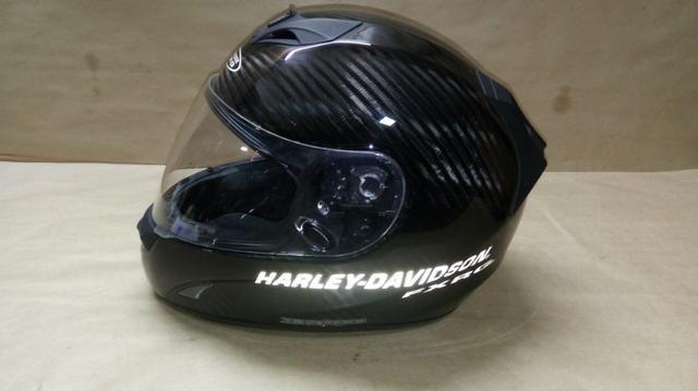 Capacete original Harley Davidson FXRG - Foto 7