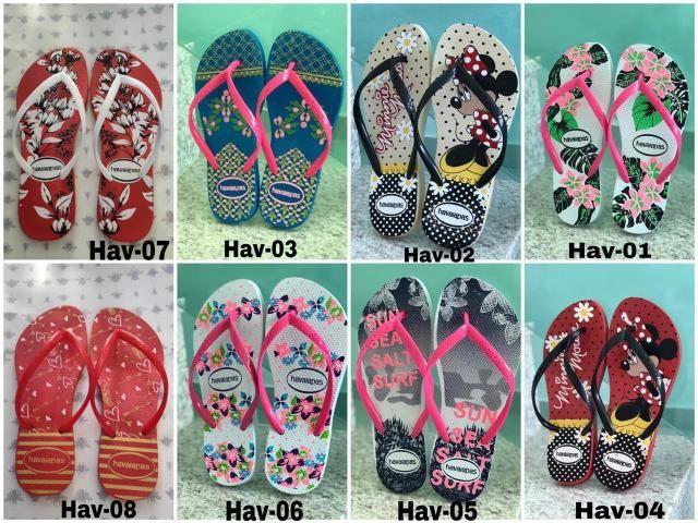 d3ffa187e9 Chinelos sandálias Havaianas infantil e feminina adulto - Roupas e ...