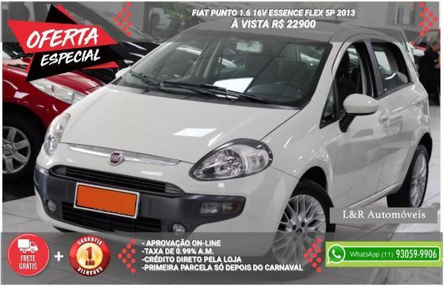 fiat punto 1.6 16v essence 2013 - 2013
