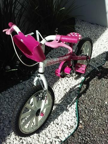 Vendo Bicicleta caloi infantil Barbie