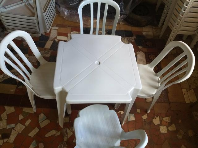 Aluguel de mesas e cadeiras (GAMA DF) Aparti de 7,00 - Foto 3