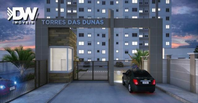 Procurando apto bem Localizado? Torres das Dunas-Lagoa Seca 50 m²