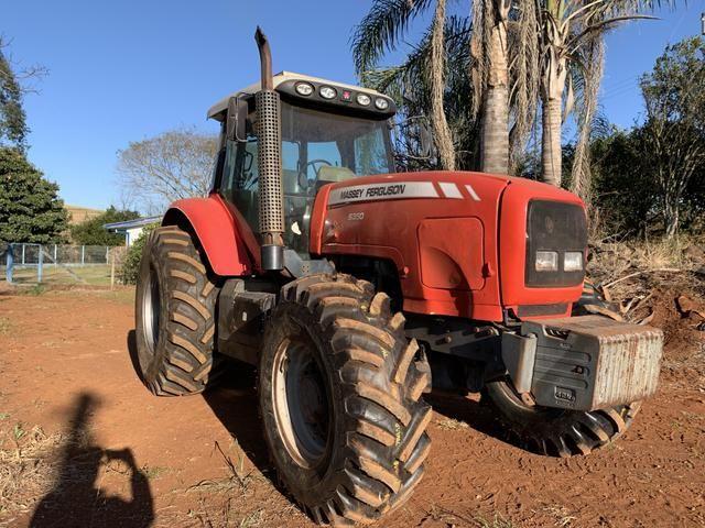 Trator MF 6350 190 cv