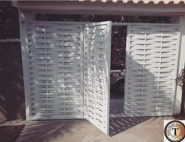 Portões de Alumínio Padrão e sob medida