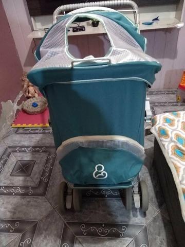 Venda bebê conforto e carrinho