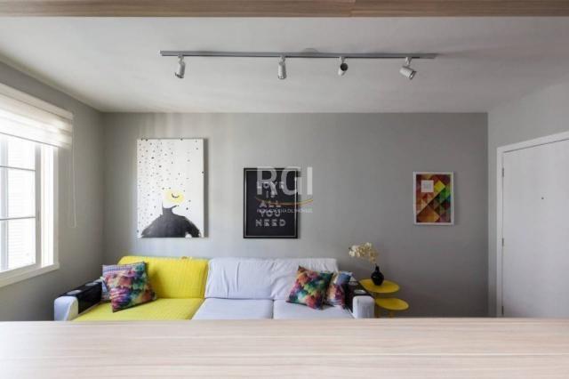 Apartamento à venda com 1 dormitórios em São joão, Porto alegre cod:HT207 - Foto 13