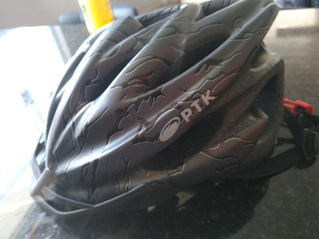 Capacete de ciclismo PTK - Foto 3