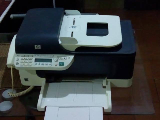 Impressora Impressora Multifuncional Hp Officejet J4660-Com xérox, fax e scanner
