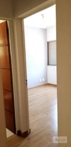 Apartamento com 3 dormitórios para alugar, 65 m² - parque euclides miranda - sumaré/sp - Foto 7