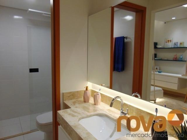 Apartamento à venda com 3 dormitórios em Setor bueno, Goiânia cod:NOV235464 - Foto 11