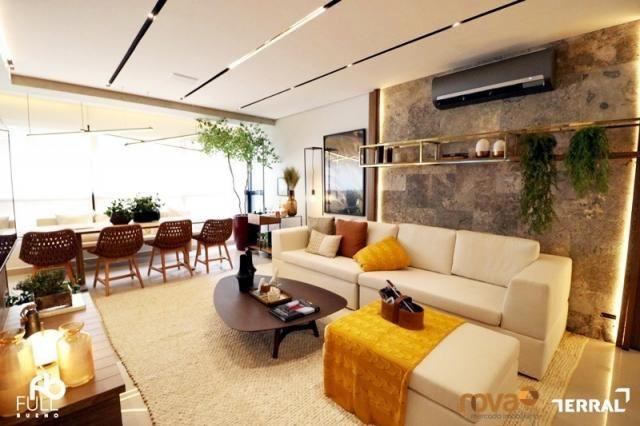 Apartamento à venda com 3 dormitórios em Setor bueno, Goiânia cod:NOV235717 - Foto 3
