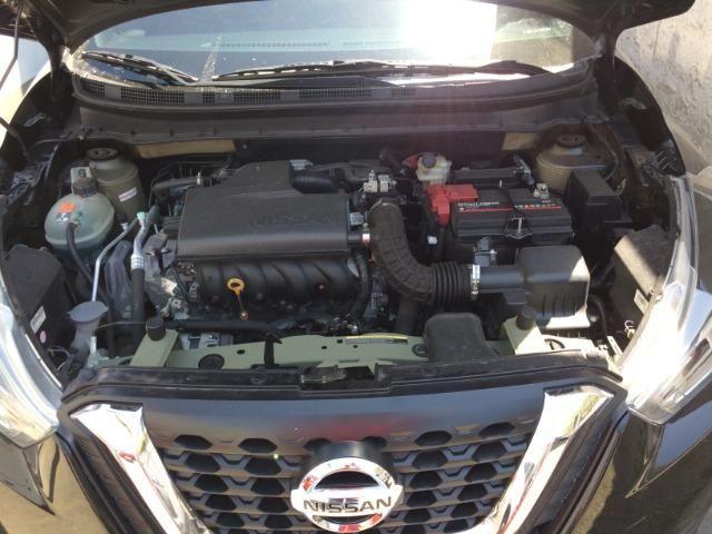 Nissan Kicks Sv 1.6 16v FlexStar 5portas Aut Preto Banco de Couro - Foto 7