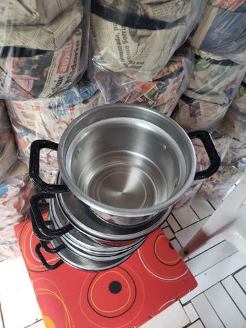 Panelas grossas com alças de alumínio - Foto 4