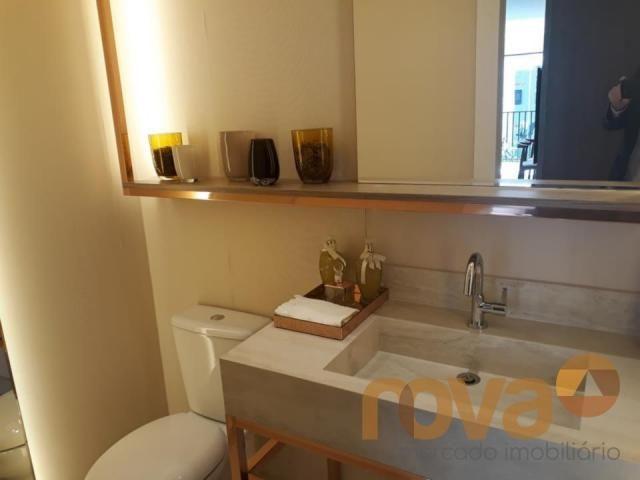 Apartamento à venda com 3 dormitórios em Setor marista, Goiânia cod:NOV89112 - Foto 9