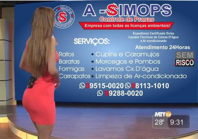 Fim de semana de ofertas detetização Asimops *
