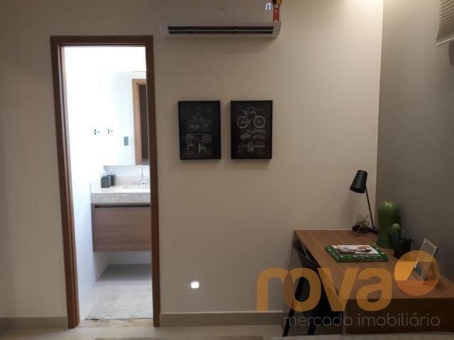 Apartamento à venda com 3 dormitórios em Setor marista, Goiânia cod:NOV89112 - Foto 10