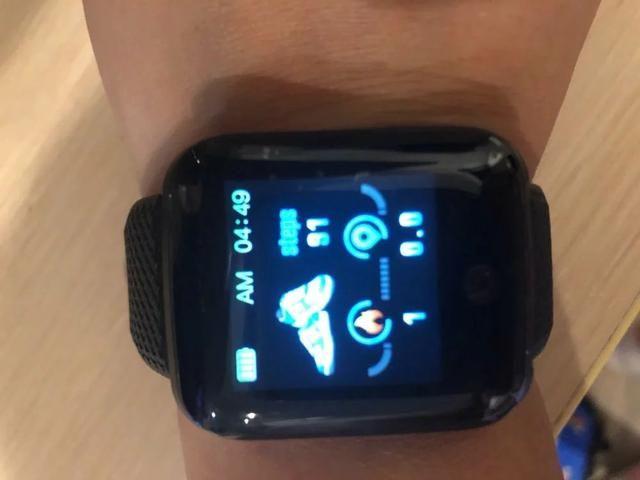Mega promoção relógio inteligente com monitor cardíaco e pressão arterial - Foto 5