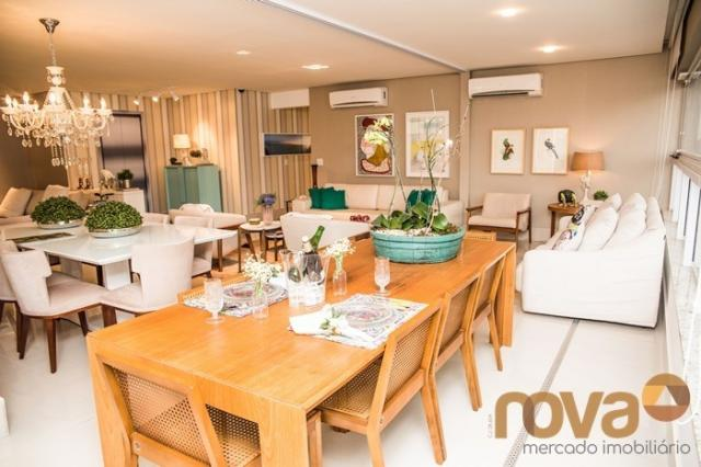 Apartamento à venda com 3 dormitórios em Setor bueno, Goiânia cod:NOV235442 - Foto 6