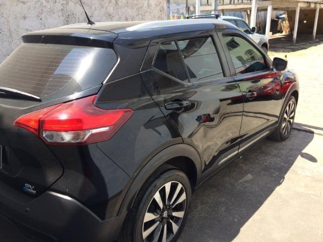 Nissan Kicks Sv 1.6 16v FlexStar 5portas Aut Preto Banco de Couro - Foto 3