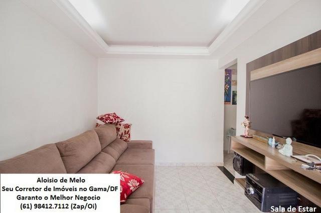 Aloisio Melo Vde: Q. 33 S/Leste, 2 Casas; Sala, Cozinha, 3 Qtos, Ac. Financiamento/FGTS - Foto 3