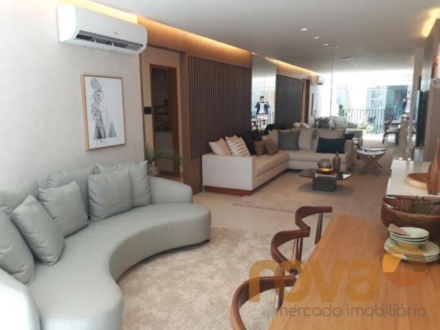 Apartamento à venda com 3 dormitórios em Setor marista, Goiânia cod:NOV89112 - Foto 2