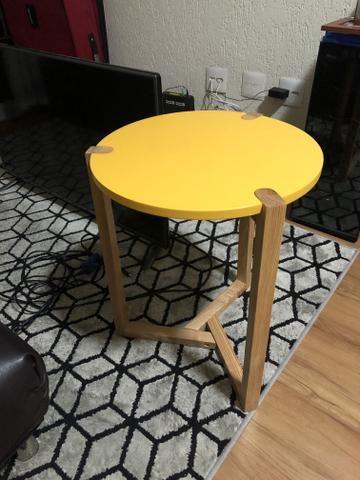 Mesa lateral Amarela - Foto 2