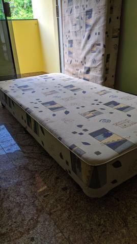 Cama BOX Com Colchão Solteiro - Molas Bonnel - Foto 5