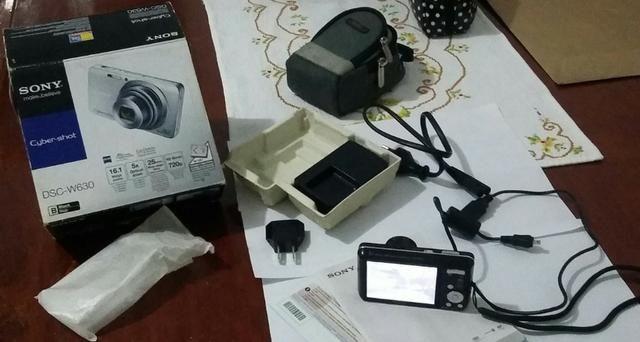 Camera Digital Sony Cyber Shot Dsc w630 16.1 mp - Foto 2