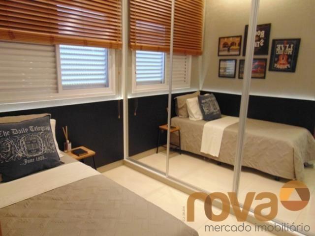 Apartamento à venda com 3 dormitórios em Residencial eldorado, Goiânia cod:NOV235562 - Foto 8