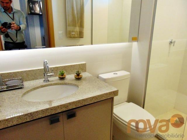 Apartamento à venda com 3 dormitórios em Setor marista, Goiânia cod:NOV235626 - Foto 12