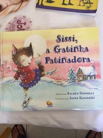 Sissi, a Gatinha Patinadora- Eileen Spinelli